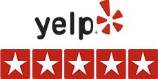 Yelp stars logo